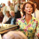 Carmen Fuggiss in der Villa Seligmann