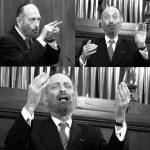Joseph Malovany, Kantor der Synagoge in der 5th Avenue, NY, zu Gast in der Villa Seligmann, Hannover