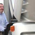 Leasingunternehmen für Lastkraftwagen im Hamburger Hafen