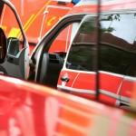 Rettungswagen zwischen den Einsätzen