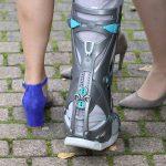 Unterschenkel-Fuß-Orthese, Medizinfotografie