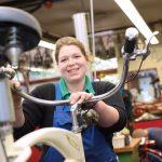 Fahrradwerkstatt im Annastift Berufsbildungswerk – Ausbildung für Menschen mit Handicap